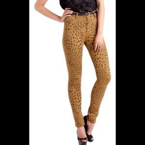 Cheap Monday Second Skin Clay Leopard 26/34 Jeans